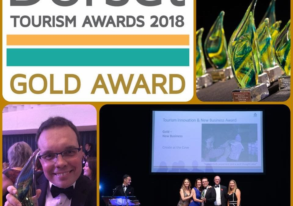 GOLD WINNERS 2018 for New Tourist Attraction